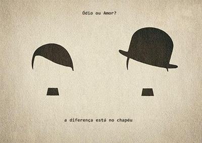 o chapéu a